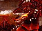 Day 20-Elemental Dragons.Fire Dragon by LicamtaPictures