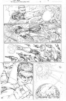 Hal Jordan and the Green Lantern Corps #21 page 2 by vmarion07