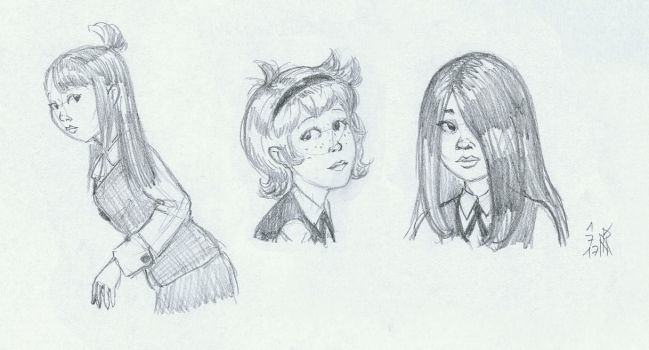 'Realistic' Little Witch Academia by Siansaar