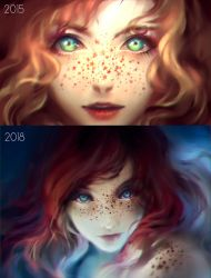Draw this again! - Sprinkle of Stars by yuumei