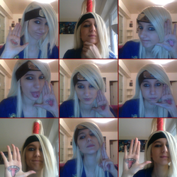 Deidara cosplay Test by Okane-chan
