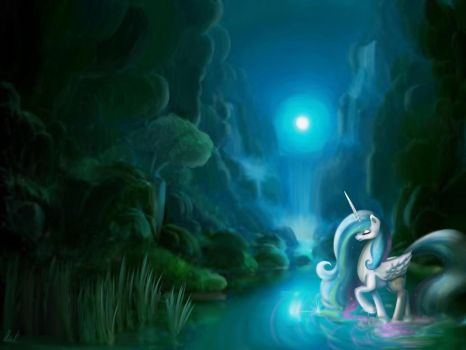 Moonlight Sonata - Celestia by AliceKvartersson