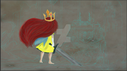 Aurora - Child of Light WIP by TheGhostBox
