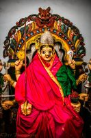 Holy Maatha Durga by sneakjoint