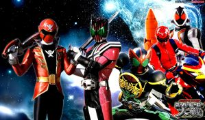 Super Hero Taisen by YorkeMaster