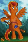 Fireheart (Commission) by Kenisu-of-Dragons