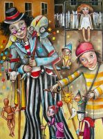 Puppeteers by Monica-Blatton