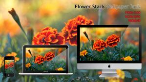 Flower Stack - Wallpaper pack by ScorpionEntity