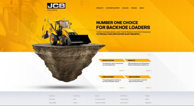 JCB WEB SITE by ufukarslanhan