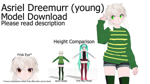 [MMD x Undertale] Asriel Dreemurr +DL *UPDATED* by MLAOA