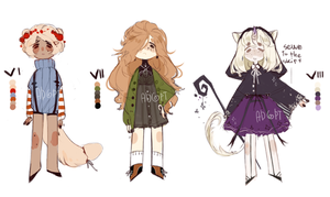[CLOSED] adoptable pack 3/3 by Cute-Yaoi