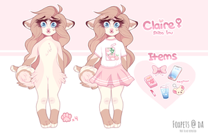 Claire Ref by foxpets