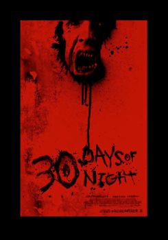 30 days of Night Poster by grafiks