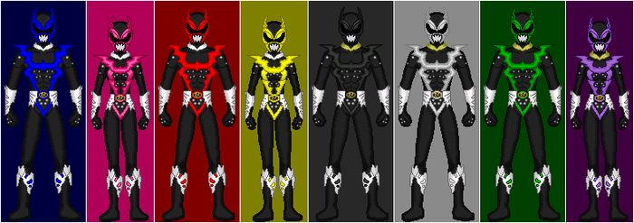 PRiS: Psycho Rangers + Extra by CWK34