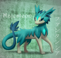 Majesteon :Fan Pokemon: by BlazeTBW