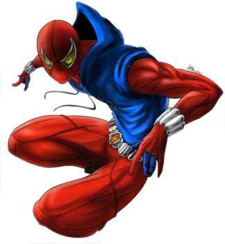 Scarlet Spider by YuriCifer
