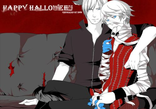Halloween by OuchNegi
