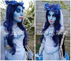 Corpse Bride Make Up by Yurai-cosplay