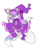 Purple Witch by Kiiro-nee-san