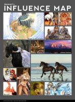 Influence map by AonikaArt