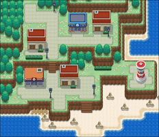Town B Map by Rossay
