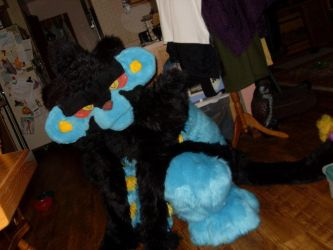 OMG, Wild Luxray Appeared by DracianFlame