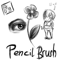 Download: Pencil Brushes for Photoshop by KristinaWaldt