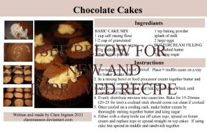 Chocolate Cakes Recipe by claremanson