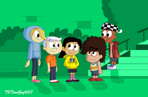 The Loud House - Kids On The Block by TXToonGuy1037