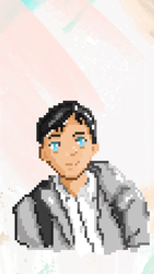 Pixel Art of My Buddy by jaws32
