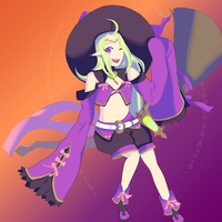 Witch Nowi by PlottingYourDemise