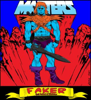 Faker Masters of the Universe by NathanKroll