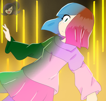 Who I used to be | Glitchtale | Betty/Amber by Zerika-Chan
