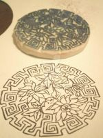 Lotus Rubber Stamp by XluciferXX