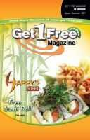 Happy's Sushi G1F Cover by bluegoddess16