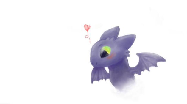 Toothless by Anastasia209