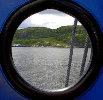 Looking through a boat by BioHazardSystem