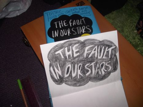 TFIOS doodle thing... by MissAcidShine
