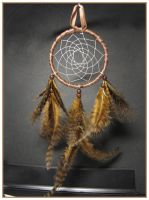 Grizzly Marabou -dreamcatcher by SaQe