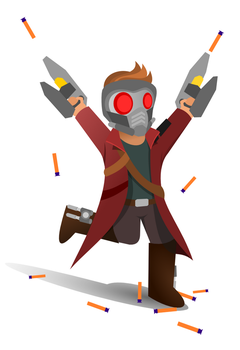 Peter Quill by texasellipses