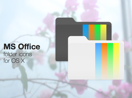 Microsoft Office Folder Icons by ChildrenAreWatching