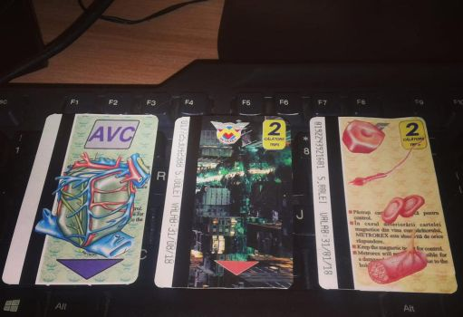 Customized Train Tickets (metro cards or whatever) by denimleaf