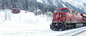 CP 8783 East at Field, BC by MrConductor