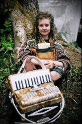 The Accordion Girl by adriftphotography