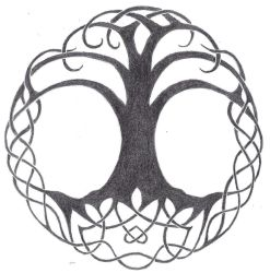 Celtic Tree of Life by Death-of-Fantasy