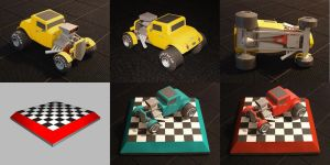 Ford Hot Rod 32-33 Paper Model by PixelOz