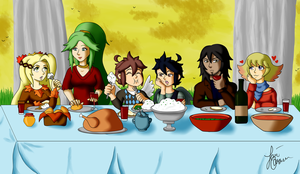 KI:Thanksgiving by xBooxBooxBear