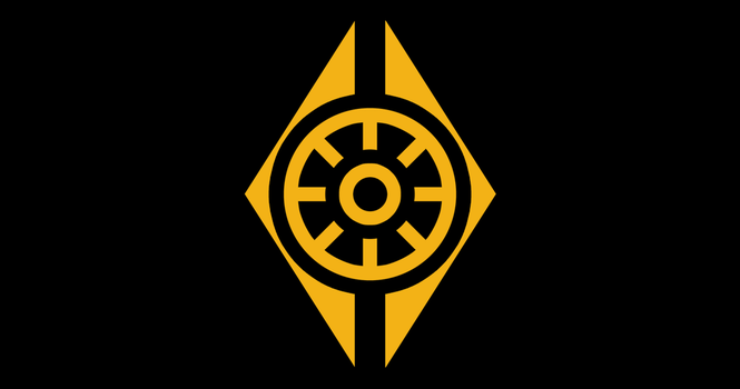 Flag of the Posthuman Conclave by RvBOMally
