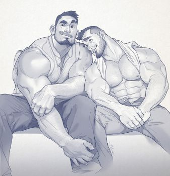 Hunk of the week #42 by silverjow