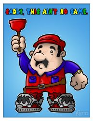 Super Mario Bros. the Movie by JSComix